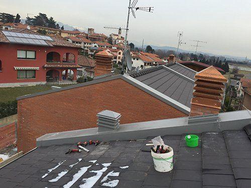 Camini in rame a Varese