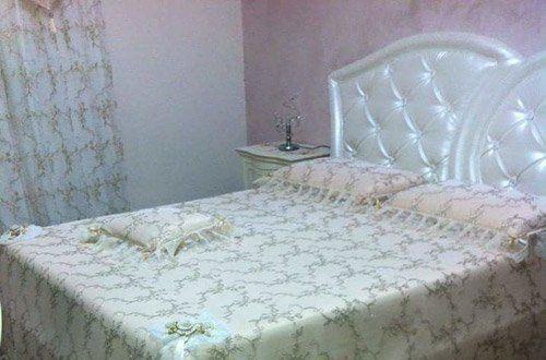 camere da letto con tenda