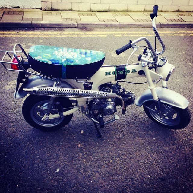 custom-made motorbike