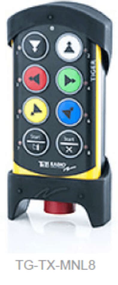Crane radio controls
