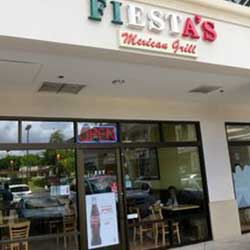 FIESTA'S Mexican Grill store front