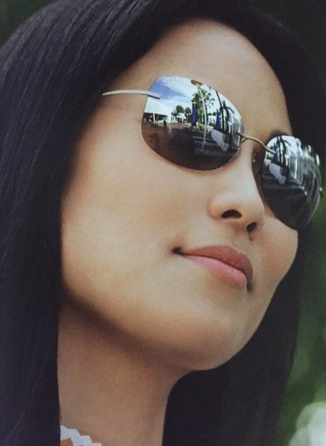 Woman satisfied with eye care services in Anchorage, AK