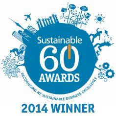 CATEGORY WINNERS - SUSTAINABLE 60 AWARDS!