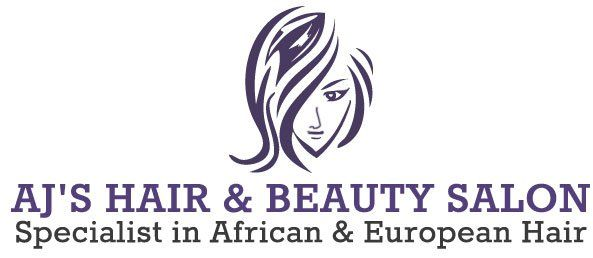 AJ's Hair & Beauty Salon logo