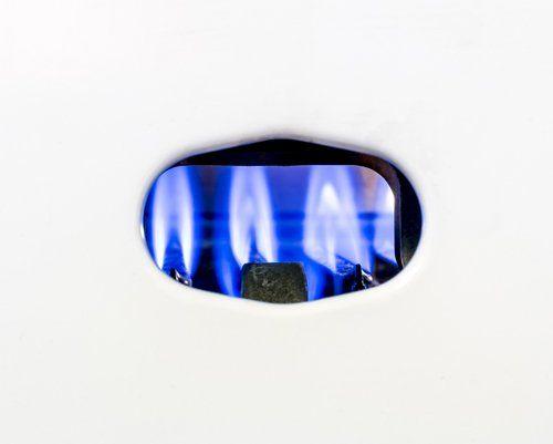 fiamma del gas