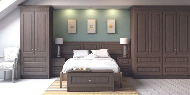 Quality bedroom fitting