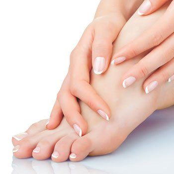 after podiatry treatment