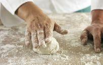Pizza dough making in Italian restaurant in Avon Lake, OH