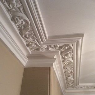 how to cut plaster coving