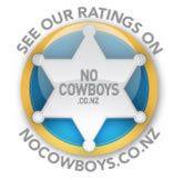 no cow boya logo