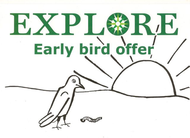 Explore lifelong learning 2017 Early Bird adult education