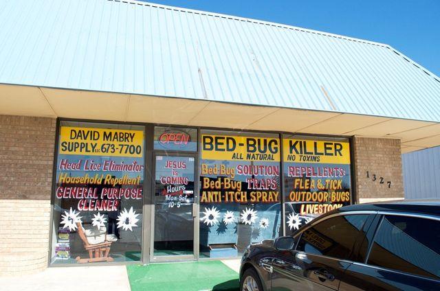 bed bug killer store - okc