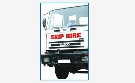 Skip hire vehicle
