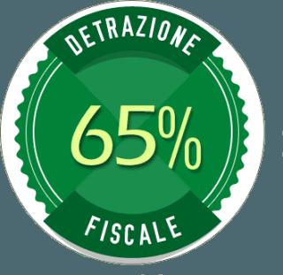 logo Detrazione 65% Fiscale