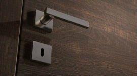 un serramento in acciaio