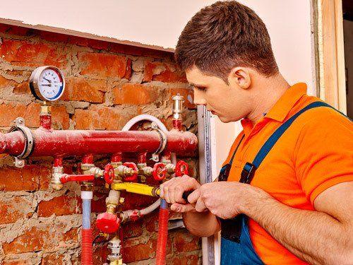 Gas repair service