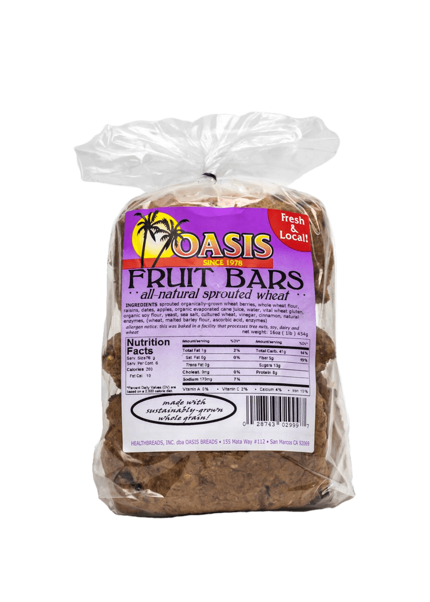 oasis fruit bars