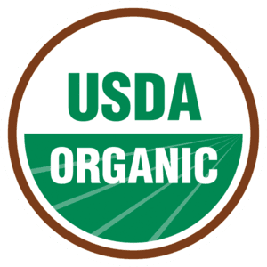 usda organic sticker label