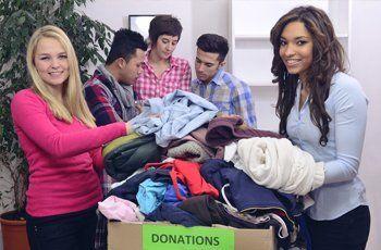 cloth donation