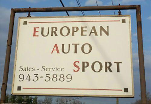 European auto sport logo in Waynesboro, VA