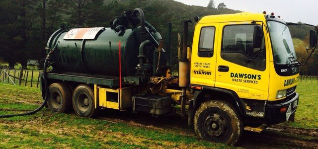 Liquid waste disposal in Wellington