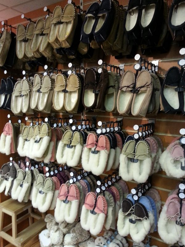 sheepskin, slippers, moccasin, moccasins, Haverfordwest, Pembrokeshire, Sheep