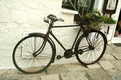 Bicicletta all'alloggio Bed & Breakfast 28 a Ostuni