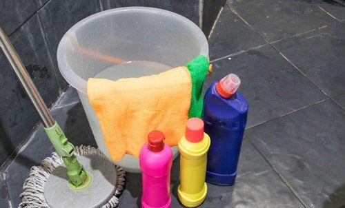 attività di pulizia