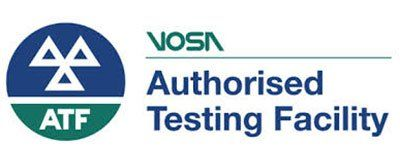 VOSA authorised testing facility logo