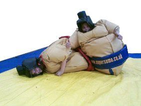 Jumior sumo suits by Supersumo Ltd
