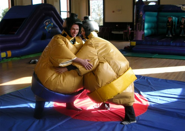 Adult sumo set by Supersumo Ltd