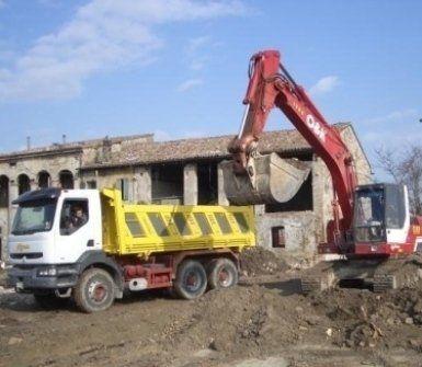 impresa scavi, escavatori, scavi edili