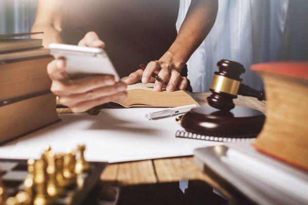 interno di uno studio legale