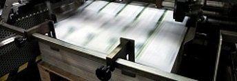 un macchinario per stampare