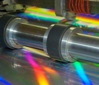 un macchinario per la stampa a colori