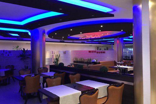 interno del ristorante Mizu Sushi