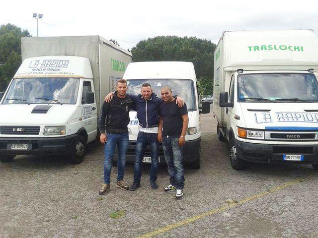 Staff de La Rapida Traslochi a Nocera Inferiore