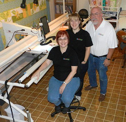 Trio Quilt Services Team Longarm Machine Quilting