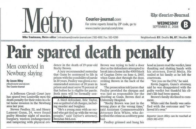 Murder Crime Attorney : Homicide Lawyer in Louisville