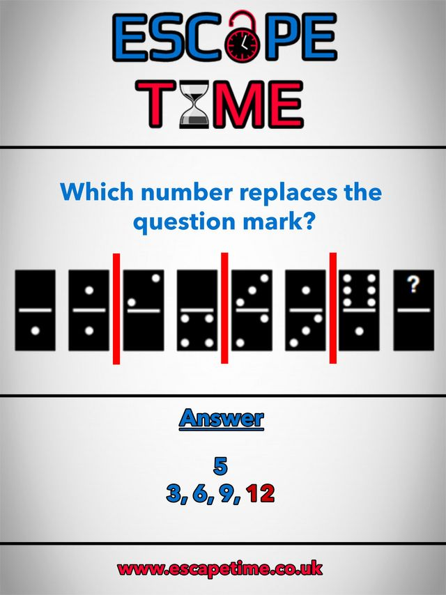 Riddle Time Answer Number Six | Live Escape Room Team Games