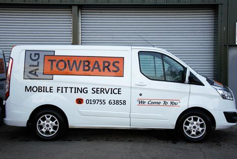 ALG Towbars Ltd vehicle