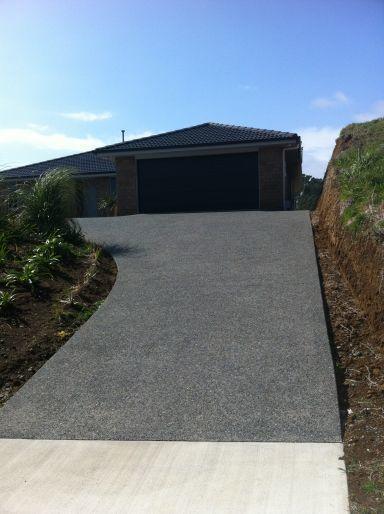 Concrete Driveway New Plymouth