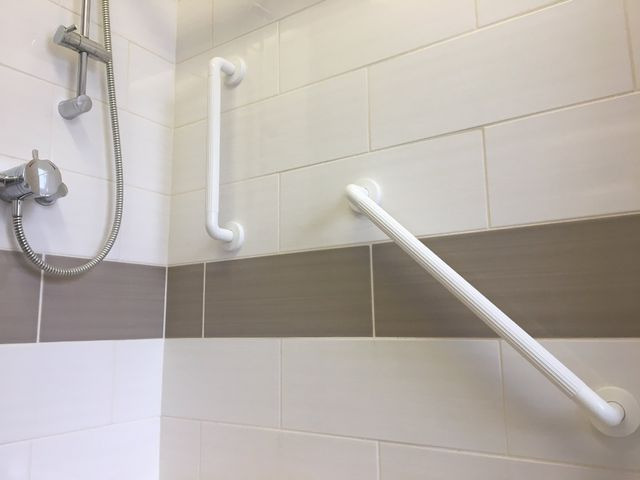 Plastic Bathroom Rails