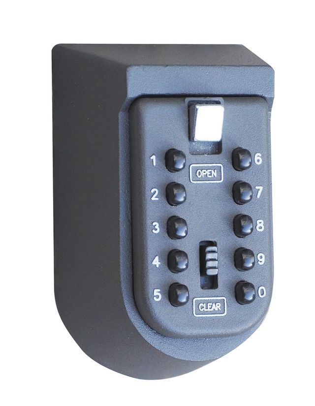 Push Button Key Safe