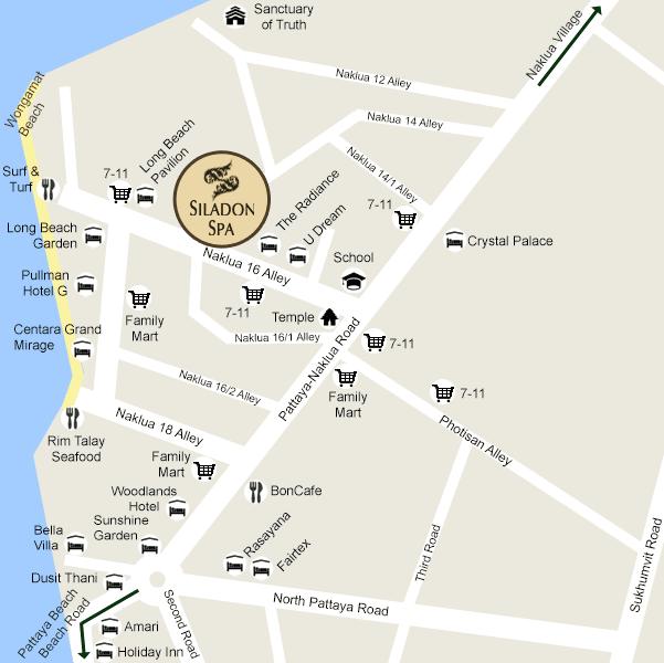 Mobile Site Map: Siladon Spa Thailand