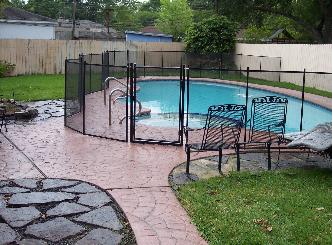 Pool Fence Houston, TX