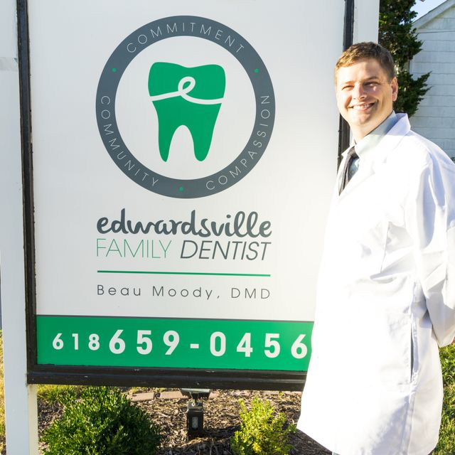 Edwardsville Family Dentist located near Edwardsville, IL post office