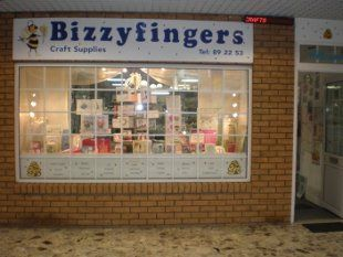 Bizzyfingers Shop Front