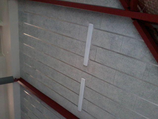 Marae ceiling using aluminium I beam
