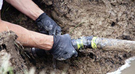 broken pipe repair